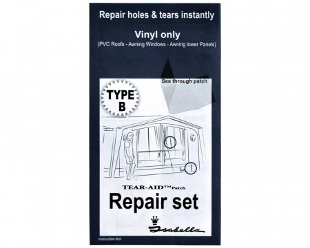Repair Set Isabella Type B til PVC/vinyl/folie