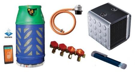 Gass, Varme og Kulde