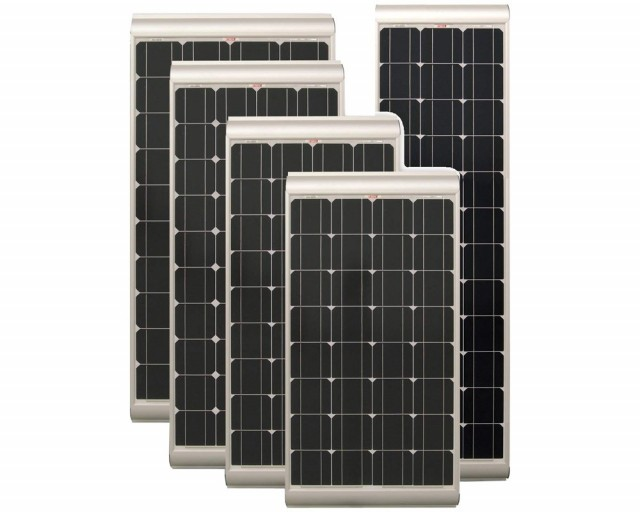 Solcellepanel NDS SOLENERGY m/MPPT 100W slim 1727x416x60mm
